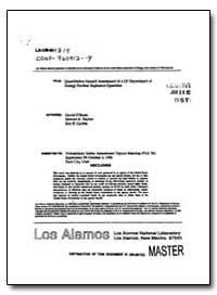 Quantitative Hazaxu Assessment of a Us E... by Fischer, Stewart K.