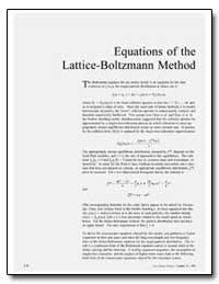 Equations of the Lattice-Boltzmann Metho... by