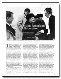 Russian-American Collaborations to Reduc... by Younger, Stephen M.