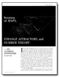 Strange Attractors and Number Theory by Stein, Paul R.