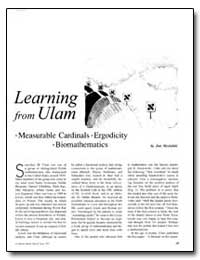 Learning from Ulam by Mycielski, Jan