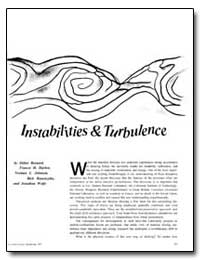 Instabilities and Turbulence by Besnard, Didier