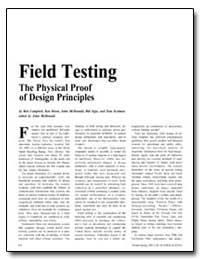 Field Testing the Physical Proof of Desi... by Campbell, Bob