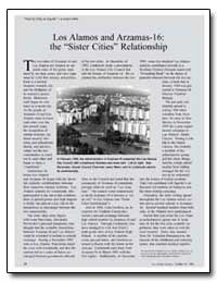 Los Alamos and Arzamas-16 : The Sister C... by