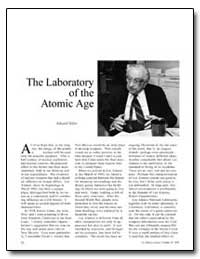 The Laboratory of the Atomic Age by Teller, Edward