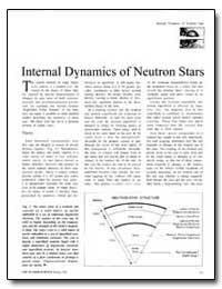 Internal Dynamics of Neutron Stars by