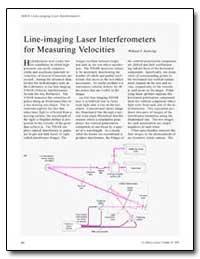 Line-Imaging Laser Interferometers for M... by Hemsing, Willard F.