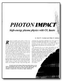 Photon Impact High-Energy Plasma Physics... by Forslund, David W.