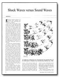 Shock Waves Versus Sound Waves by