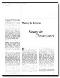 Making the Libraries Sorting the Chromos... by