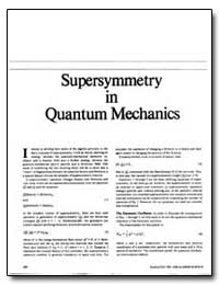 Super Symmetry in Quantum Mechanics by