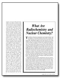 What Are Radiochemistry and Nuclear Chem... by