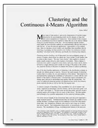 Clustering and the Continuous K-Means Al... by Faber, Vance
