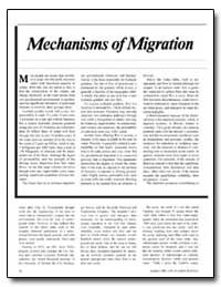 Mechanisms of Migration by