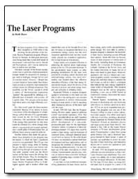 The Laser Programs by Boyer, Keith