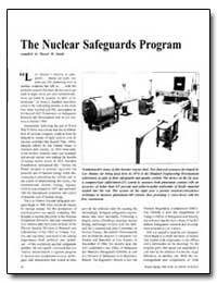 The Nuclear Safeguards Program by Smith, Darryl B.