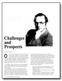 Challenges and Prospects by Kerr, Donald M.