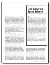 Dan Baker on Space Science by