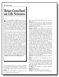 Brian Crawford on Life Sciences by