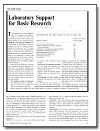 Laboratory Support for Basic Research by