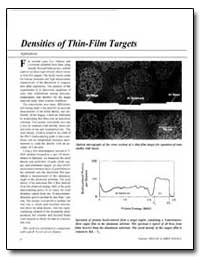 Densities of Thin-Film Targets by