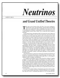 Neutrinos and Grand Unified Theories by