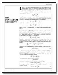 The Continuum Argument by