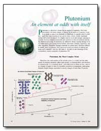 Plutonium an Element at Odds with Itself by