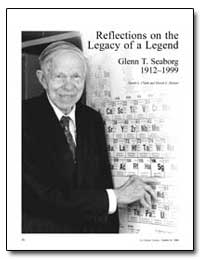 Reflections on the Legacy of a Legend by Seaborg, Glenn T.