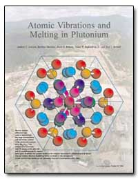 Atomic Vibrations and Melting in Plutoni... by Lawson, Andrew C.