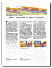 Mesh Generation for Yucca Mountain by Gable, Carl W.