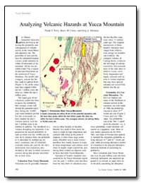Analyzing Volcanic Hazards Atyucca Mount... by Perry, Frank V.