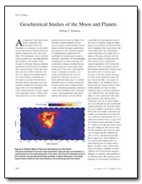 Geochemical Studies of the Moon and Plan... by Feldman, William C.