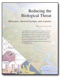 Reducing the Biological Threat Detection... by Jackson, Paul J.