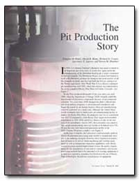 The Pit Production Story by Kautz, Douglas D.