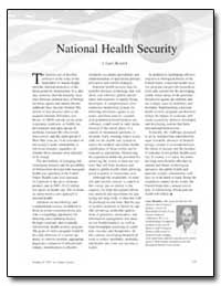 National Health Security by Resnick, I. Gary