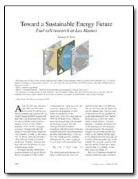 Toward a Sustainable Energy Future Fuel ... by Stroh, Kenneth R.