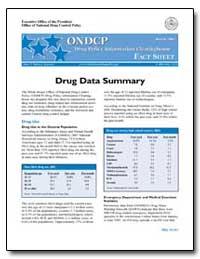 Drug Data Summary by Walters, John P.