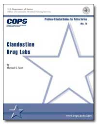 Clandestine Drug Labs by Scott, Michael S.