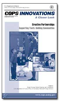 Creative Partnerships Supporting Youth, ... by Chapman, Robert