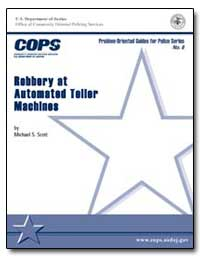Robbery at Automated Teller Machines by Scott, Michael S.