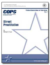 Street Prostitution by Scott, Michael S.