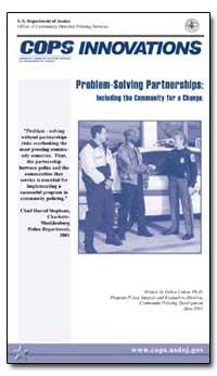 Problem-Solving Partnerships: Including ... by Cohen, Debra