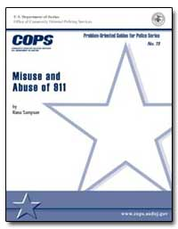 Misuse and Abuse of 911 by Sampson, Rana