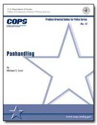 Panhandling by Scott, Michael S.