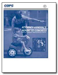 Attorney General's Report to Congress by