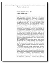Executive Order 13158 of May 26, 2000 Ma... by