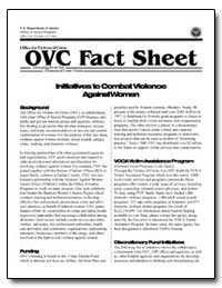 Ovc Fact Sheet by