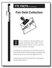 Fair Debt Collection by