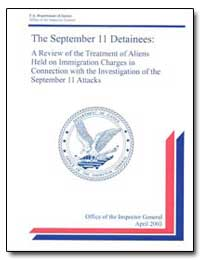The September 11 Detainees by